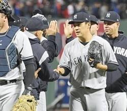 田中将大が快挙を達成!R・ソックス戦で97球完封3勝目をマーク!